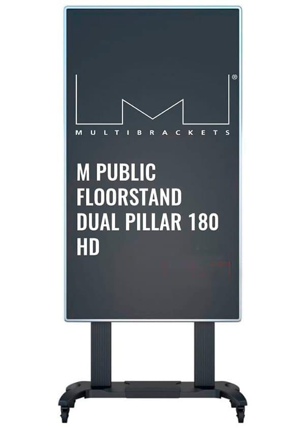 M Public Floorstand Dual Pillar 180 HD