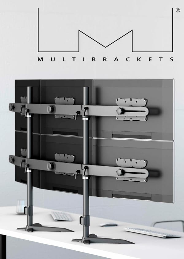 Multibrackets for monitors