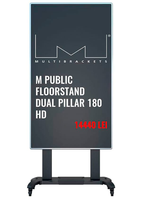 Передвижная стойка M Public Floorstand Dual Pillar 180 HD