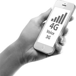 GSM, 3G и 4G